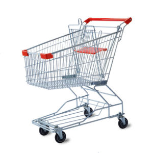 Zinc or Chrome Plated Asian Shopping Cart by Yuanda Factory pictures & photos