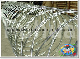Galvanized Razor Wire Mesh Fence (CBT-65) pictures & photos