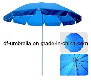 "42"" Windproof Fibreglass Outdoor Beach Umbrella"