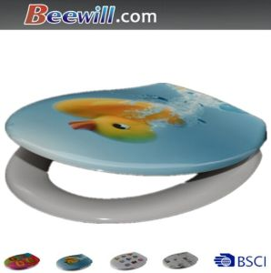 Western Duroplast Printed Animal Sanitary Toilet Seat pictures & photos