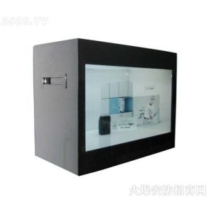 21.5inch Touch Transparent LCD Display for Advertising pictures & photos