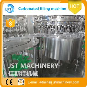 3 in 1 Pet Bottle Aerated Beverage Filling Plant pictures & photos
