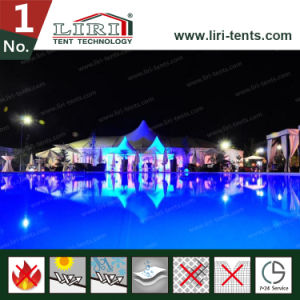 Aluminum Tent for Marquee Big Wedding Tent with The Flooring and Courtains pictures & photos