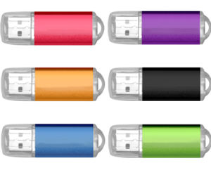 Classic Plastic USB Flash Drive with Full Capacity pictures & photos