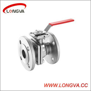 Sanitary Flanged Connection Ball Valve pictures & photos