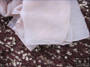 100% Silk Fashion Lady Plain Chiffon Scarf/Shawl/Foulard