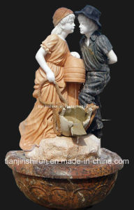 Stone Carving Child Fountain, Home Fountain (FNT075) pictures & photos
