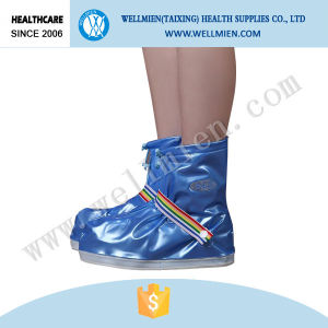 Non-Slip Waterproof Boot Cover Disposable Cute PVC Rain Cover pictures & photos