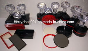 Th Series Crystal Handle Flash Stamp with 4mm Flash Rubber pictures & photos