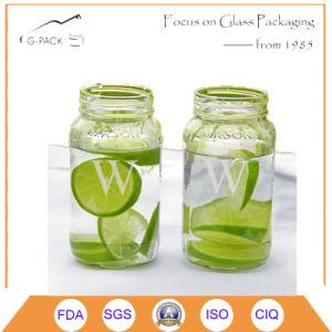 Glass Mason Jar for Ice Cream Purpose pictures & photos