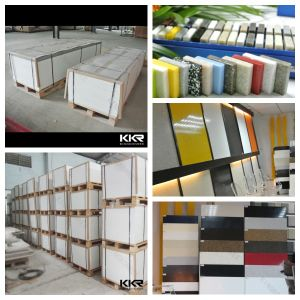 Artificial Marble Acrylic Stone Sheets for Tub Surrounds pictures & photos