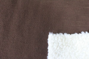 Composite Lambs Wool Knitting Fabric pictures & photos