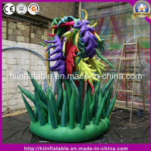 Hot Sale Standing Model Inflatable Flower for Stage Event Decoration
