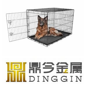 ISO9001 Wirehouse Cage for Pets with 2 Doors pictures & photos
