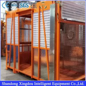 ISO Ce Approved Building Hoist with Double Cage pictures & photos