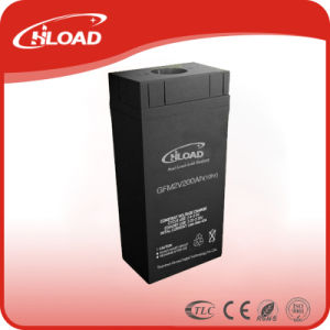 2V 200ah Solar Gel Deep Cycle Battery for Solar System pictures & photos