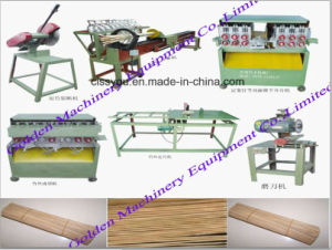 China Wood Toothpick Chopsticks Bamboo Incense Making Machine pictures & photos
