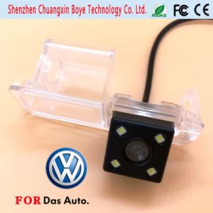 Mini Car Camera with 4 LED Lights Fit for Volkswagen 2011 Golf Polo Magotan Passat Cc