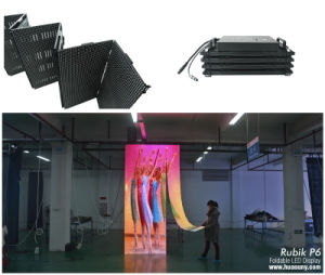 Rubik Foldable LED Display P6mm Foldable LED Screen pictures & photos