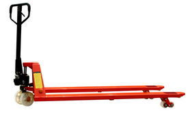 High Quality Hand Pallet Truck with Long Fork (DF PUMP) pictures & photos