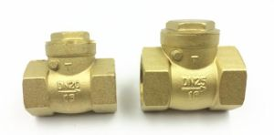 "Brass Non Return Valve 3/4"" 1"" Mini Brass Check Valve pictures & photos"