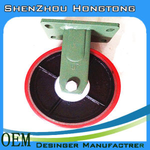 PU+Steel Caster Loading 2 Ton with 75mm Width pictures & photos