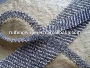 Knitted Wire Mesh Fabric pictures & photos
