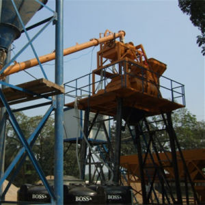 (HZS35) Skip Type Concrete Mixing Plant pictures & photos