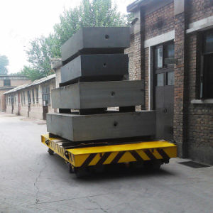 Customizable Cable Drum Powered Electric Railway Trailer with Safety Device pictures & photos