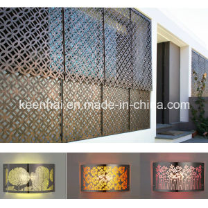 Perforated Aluminum Sheet Decorative Outdoor Wall Panels pictures & photos