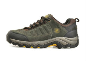 Army Green Outdoor Trekking Shoes pictures & photos