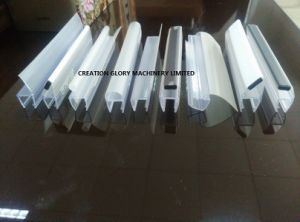 PC PVC Shower Door Seal Strip Plastic Extruding Machinery pictures & photos