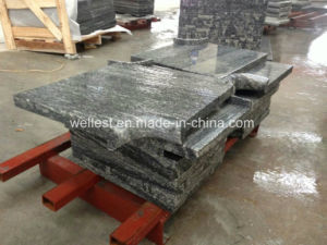 Flamed Grey Granite Tile, Pool Coping, Steps, Bullnose Edge pictures & photos