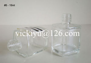 18ml Small Glass Bottles with Screw Top for Cosmetics pictures & photos
