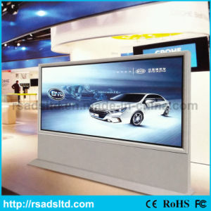 Acrylic Outdoor Scrolling Advertising Sign Light Box Frame