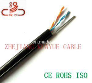 Jelly Filled 2pair Drop Wire Cable/Computer Cable/ Data Cable/ Communication Cable/ Connector/ Audio Cable pictures & photos