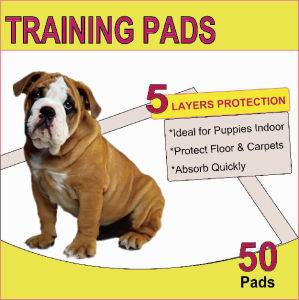 "OEM 50pk 23""*24"" Hot Sale Puppy Training Toilet Pad pictures & photos"