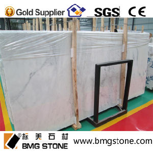 Snow White Stone Marble Polished Carrara White Marble