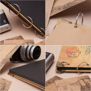 Black Craft Paper Scrapbook Album pictures & photos