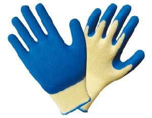 10 Gauge Seamless Knitted Latex Coated Gloves 1201 pictures & photos