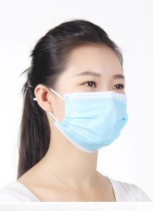 Disposable Nonwoven 3ply Surgical Face Mask with Earloop pictures & photos