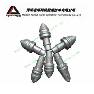 Tungsten Carbide Tipped Step Shank Betek Pick Conical Drill Bit Rock Drilling Auger Round Shank Cutter pictures & photos