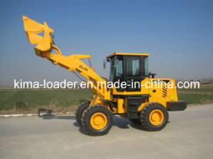 Screening Bucket 4 Wheel Drive Articulated Loader with CE