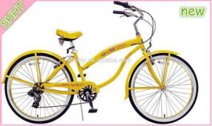 "26""/20"" Women Yellow Beach Bicycle/Bike/Cycle Sh-Bb033 pictures & photos"