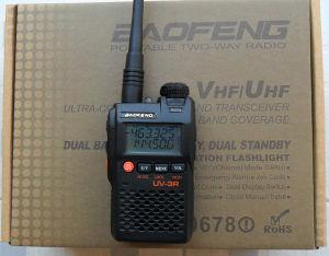 Ham Radio, Dual Band 2-Way Radio 136-174/400-470MHz + Free Ptt Earpiece UV-3r pictures & photos