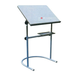 Cheap School Furniture Student Wooden Drawing Table, Drawing Stock pictures & photos