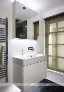 Shower Room White Free Standing Bathroom Cabinet pictures & photos