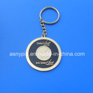 Stamping Iron Enamel Metal Keyring with Company Logo pictures & photos