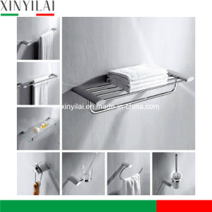 Oval Design Brass Chrome Plated Accessories Bathroom Set pictures & photos