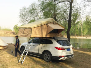 Magtower 3~4person Overland 4WD Canvas Car Rooftop Tent pictures & photos